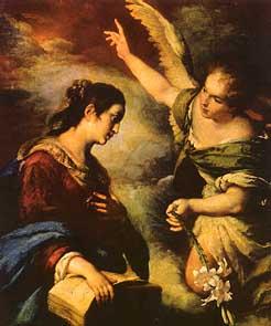 Strozzi, Zvěstování Panny Marie