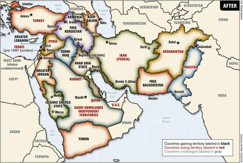 Střední východ zítra